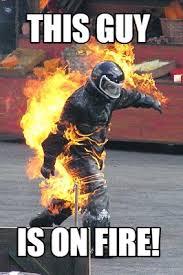 Fire Meme - meme maker man on fire generator
