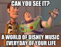 Music Memes Funny - disney music life imgflip