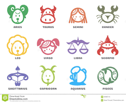zodiac sign clipart cute pencil and in color zodiac sign clipart