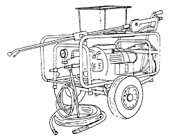 Washing Machine Coloring Page - planning and engineering data 4 containers for fish handling 8