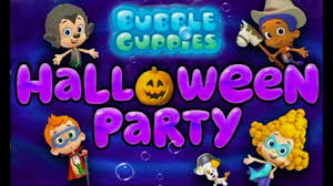 bubble guppies full episode halloween party cartoon video game