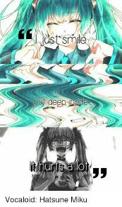 Vocaloid Memes - smlt deep vocaloid hatsune miku meme on me me