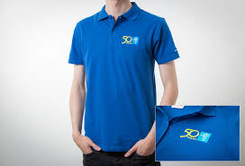 polo shirts with embroidered custom logo 4156