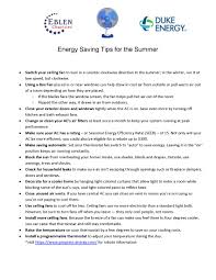 how to save energy at home in summer beautiful close your