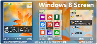 themes of java windows 8 screen theme for nokia x2 00 c2 01 x3 240 320 updated