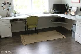 how to use laminate flooring for your desk top