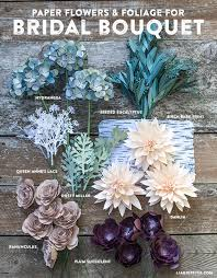 How To Make A Bridal Bouquet Diy Rustic Paper Bridal Bouquet Lia Griffith
