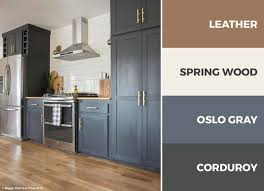 kitchen color schemes with gray cabinets a gray brown and white kitchen is sophisticated and