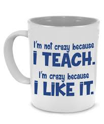 funny thank you teacher coffee mug a cool unique gift printed