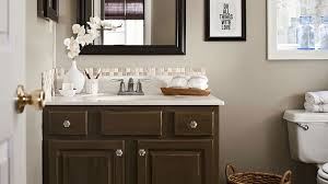 easy bathroom remodel ideas budget bathroom makeover better homes gardens