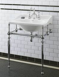 Bathroom Sink Console by Herbeau Bathroom Traditional With Antique Bathroom Faucets