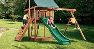 Sears Backyard Playsets Escalade Sports Recalls Oasis Playsets After Swings Break Aol