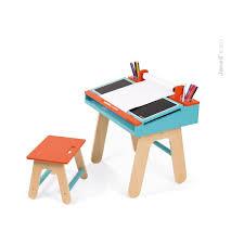bureau 3 ans bureau d écolier bleu et orange sebio