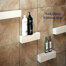 shelving ideas for bathrooms shower shelving ideas shower recessed shelves bathroom shower
