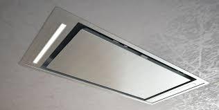 hotte de cuisine escamotable hotte de cuisine de plafond avec éclairage intégré slt 958