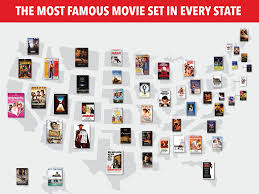 Off The Map Movie Most Famous Movie Set In Every State Map Business Insider
