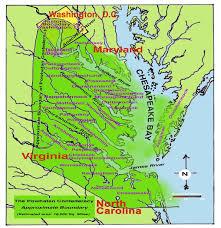 powhatan territorial map
