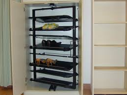 closet shoe organizer home over the door hanging of and rotating