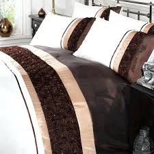chocolate brown duvet cover king chocolate and cream duvet covers