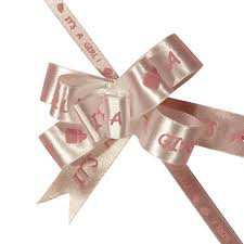 shrink wrap bags with pull bows it s a boy girl butterfly pull bow