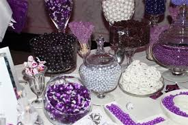 Chocolate Candy Buffet Ideas by Purple Candy Buffet Dessert Table Chocolate Fountain