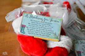 a stocking for jesus a new tradition to bring christ back to