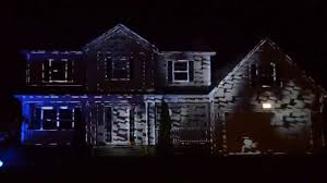2014 haunted house projection goguen residence