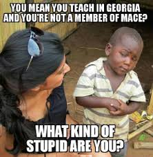 Teacher Lady Meme - the teacher s advocate mace a teacher s union