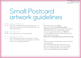 postcard templates and guidelines moo united states