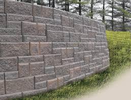 cement retaining walls block wall from everloc retaining