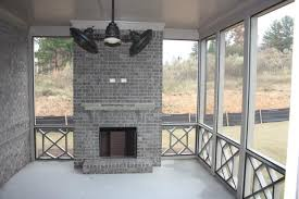 screen porch with outdoor fireplace 3 tamra wade team re max