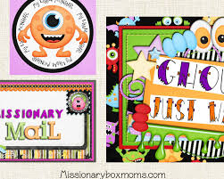 Printable Halloween Stories by Missionary Care Package Kits U0026 Ideas Missionary Box Moms