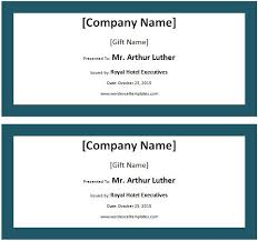 hotel gift certificates ms word hotel gift certificate template word excel templates