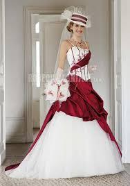 robe de mari e bicolore robe de mariée 2016 couleur appliques bretelles fines en satin