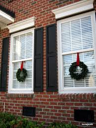hanging christmas lights around windows how to hang wreaths from vinyl windows wreaths easy and holidays