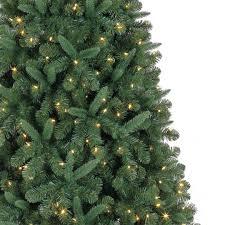 white pre lit christmas tree with colored lights 7 5 ft pre lit kensington pine artificial christmas tree color
