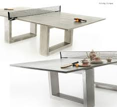 Concrete  Steel Ping Pong Table Game On Designer Table Tennis - Designer ping pong table