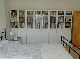billy bookcase glass doors decorating ideas contemporary unique