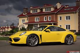porsche stinger 2015 yellow porsche 991 carrera stinger by topcar gtspirit