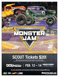 monster truck show bay area monster jam scout night dcu center