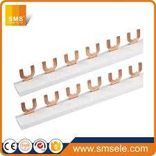 Sisir Mcb kaleng mcb sisir busbar tembaga untuk distribusi papan panel buy