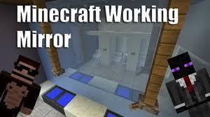 minecraft working mirror youtube