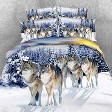 Wolf Bedding Set Wolf Bedding Sets