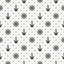 anchor wrapping paper seamless retro marine pattern with anchor wrapping paper vector