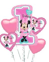 1st birthday balloon delivery minnie mickey mouse balloons party delights