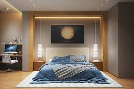 stunning bedroom lighting ideas and hanging wall lights for subtle