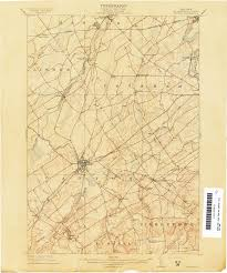 New York Counties Map New York Topographic Maps Perry Castañeda Map Collection Ut