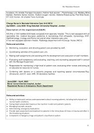 Charge Nurse Job Description Resume Cheap Cover Letter Writing Site For University Administrative