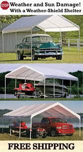 12x24 Carport 23 Best Portable Garage And Carport Assembly Images On Pinterest