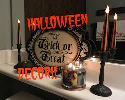 2014 halloween decor guest bathroom youtube